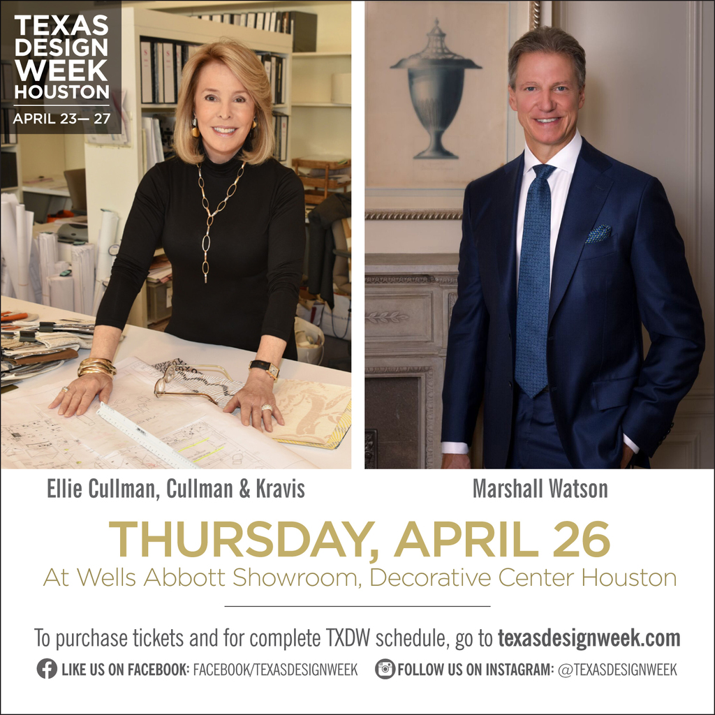 Texas Design Week Panel featuring Marshall Watson and Kate Reid