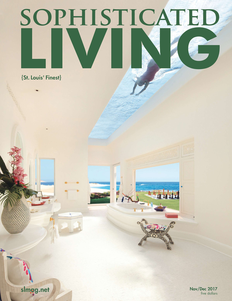 Feature in Sophisticated Living Magazine