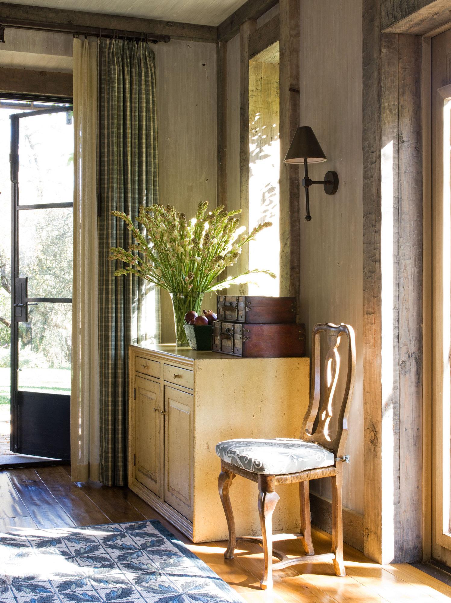 Napa Valley, California home interior