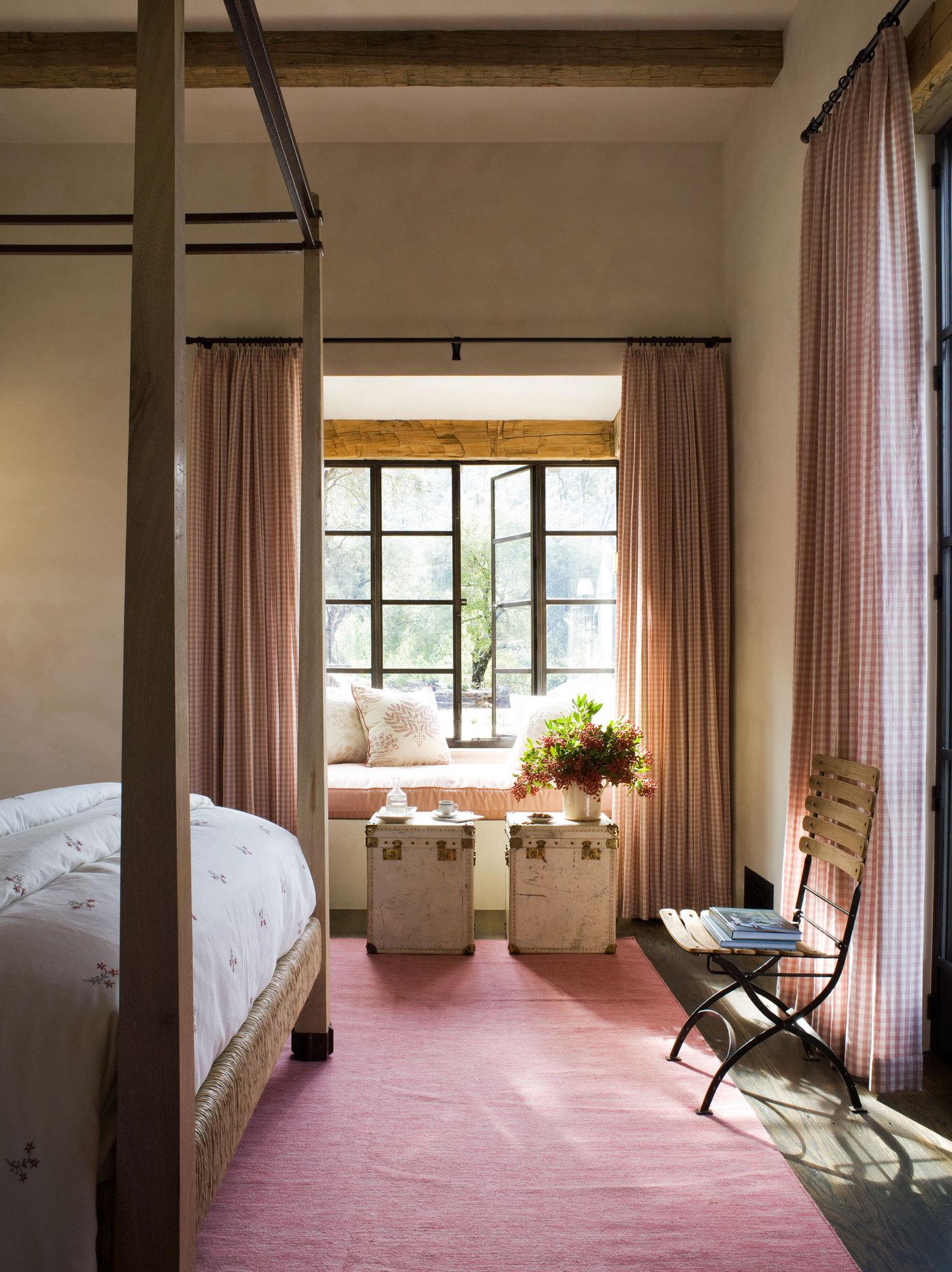 Napa Valley, California interior bedroom