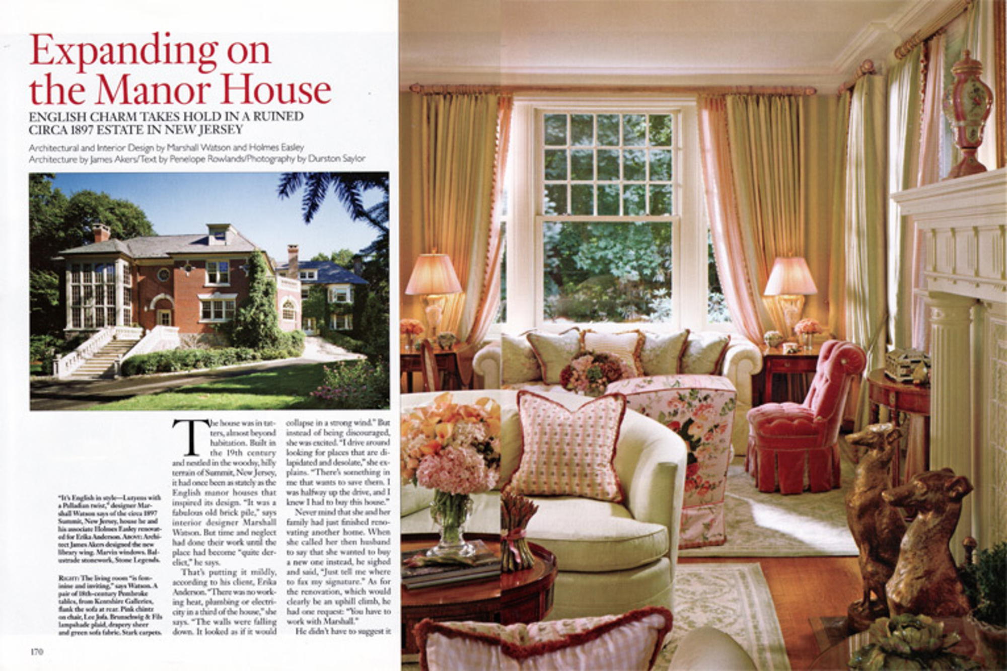 2006 January Architectural Digest Article