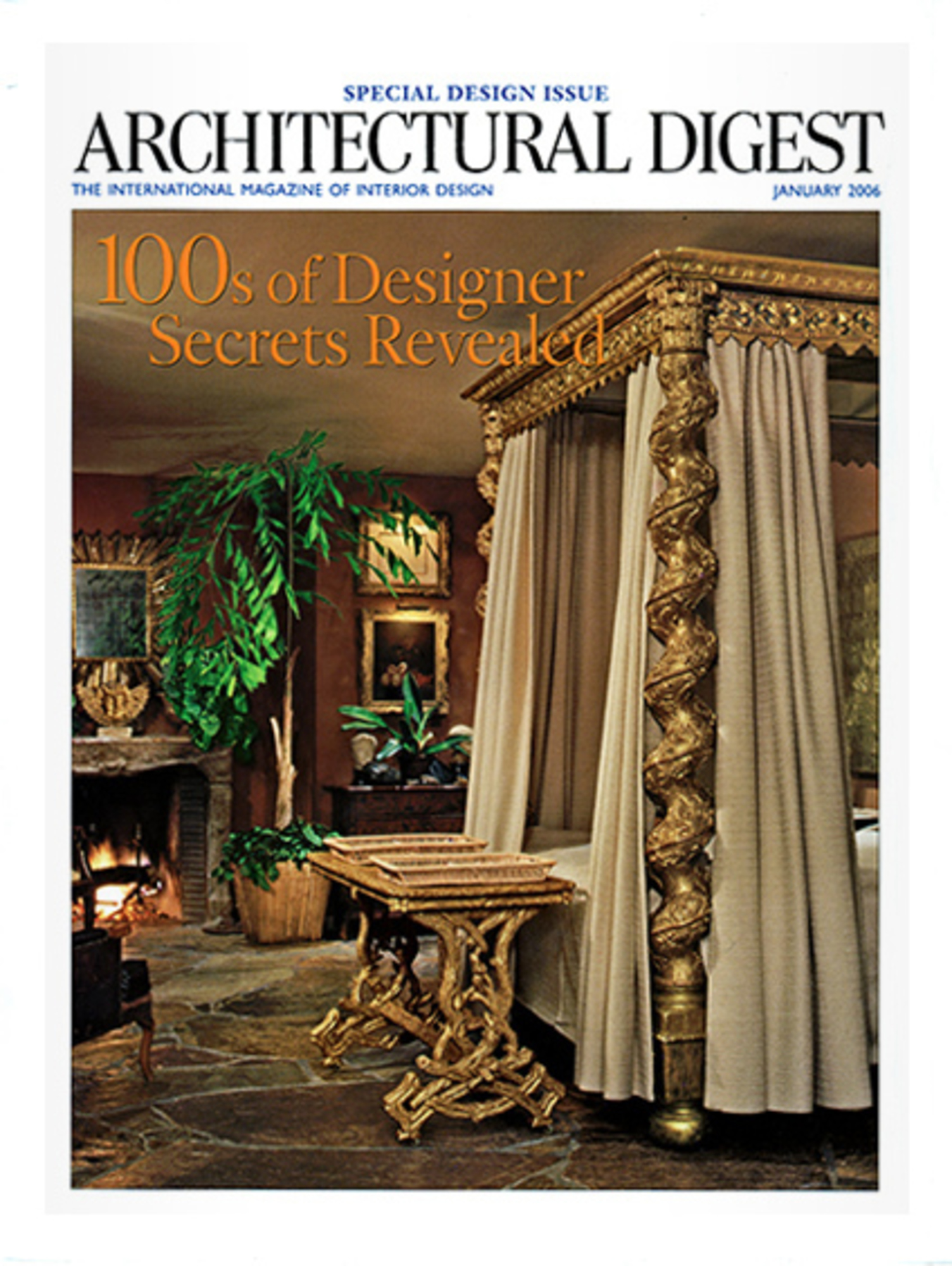 2006 January Architectural Digest Cover