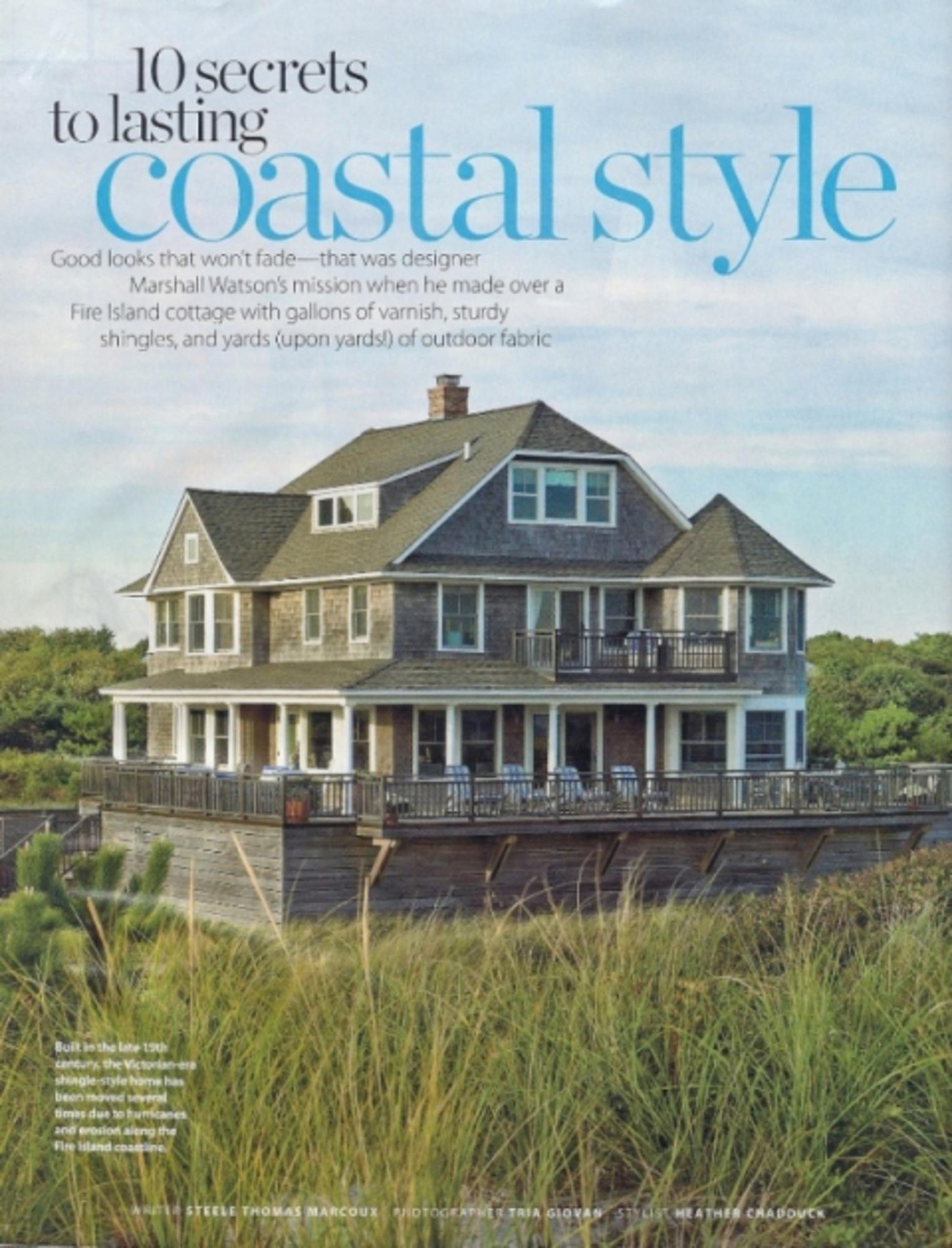 2010/10 Coastal Living Spread