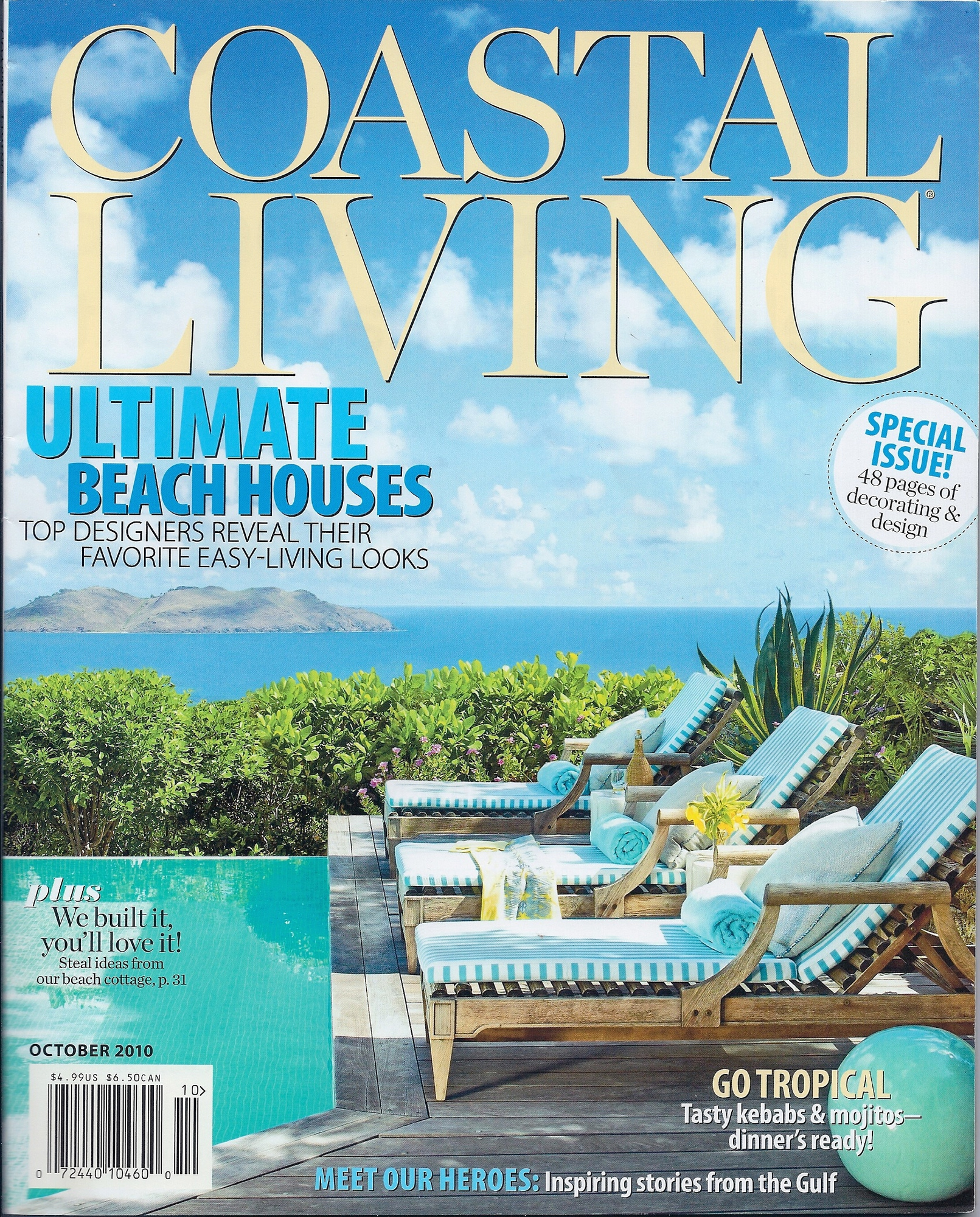 2010/10 Coastal Living Cover
