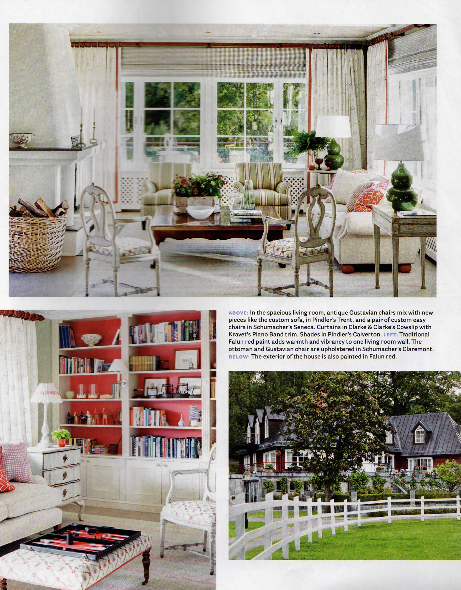 Marshall Watson Interiors House Beautiful The Color Issue