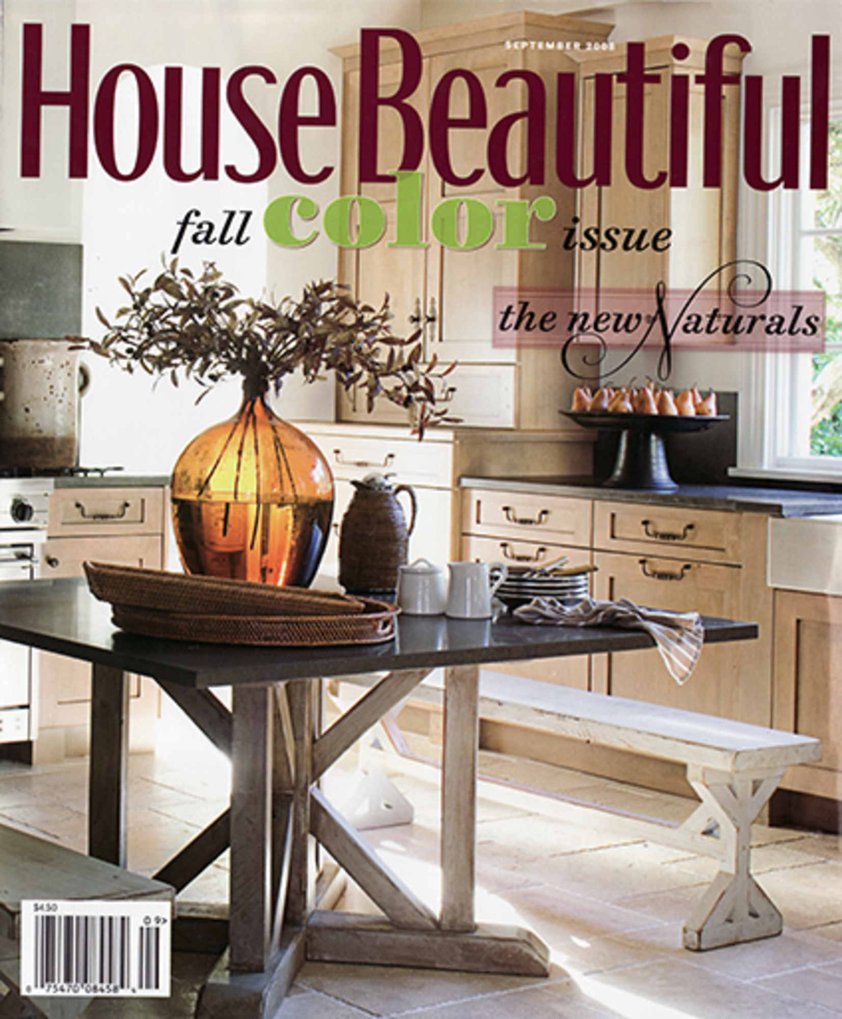 2008/12 House Beautiful Cover