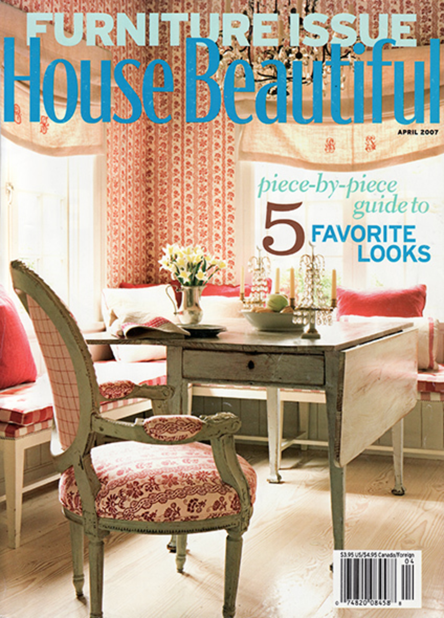 2007/04 House Beautiful Cover