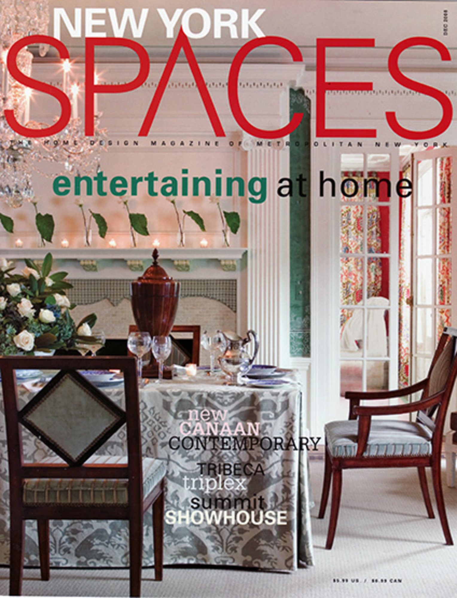 2008/12 New York Spaces Cover