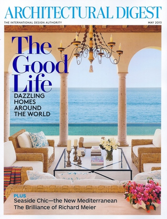Architectural Digest: Cover Story